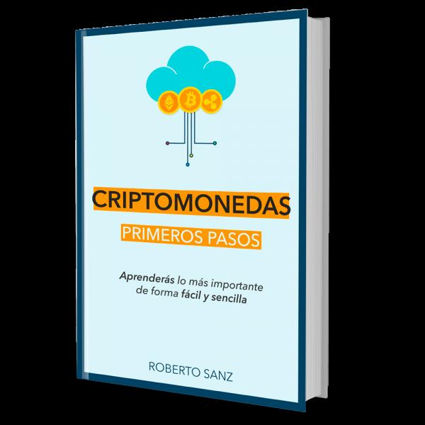 Libro Portada Primeros Pasos en Criptomonedas - Roberto Sanz