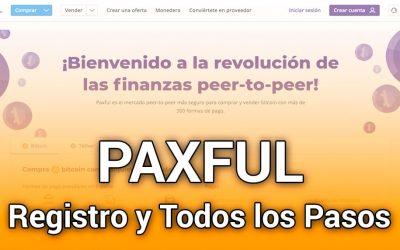 PAXFUL: Cómo Registrarse con Todos los Pasos