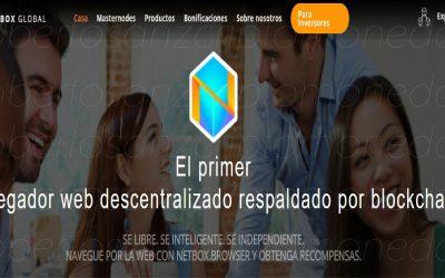 NETBOX Browser: Gana dinero con este navegador descentralizado