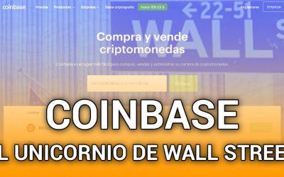 El índice para comprar acciones de Coinbase