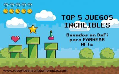 TOP 5 JUEGOS INCREIBLES basados en DeFi para FARMEAR NFTs 💰