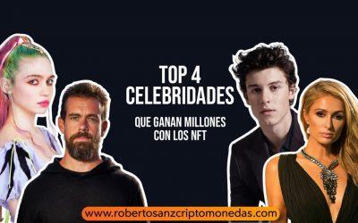 TOP 4 celebridades que ganan millones con los NFT 💰